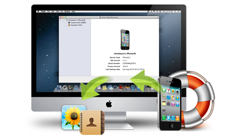how to make iphone photos appear on mac