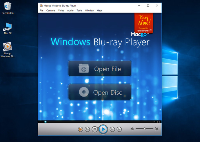 macgo windows bluray player software for windows 10